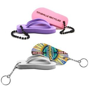 Floating Flip-Flop Keychain