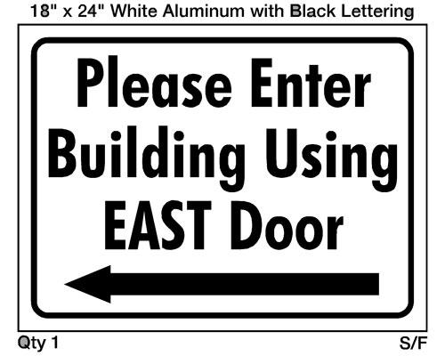 East Door