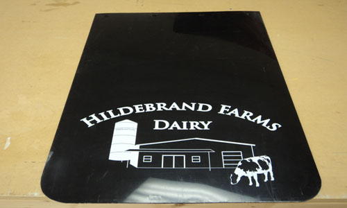 Hildebrand Farms Dairy mud-flap