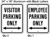 employee-parking-only