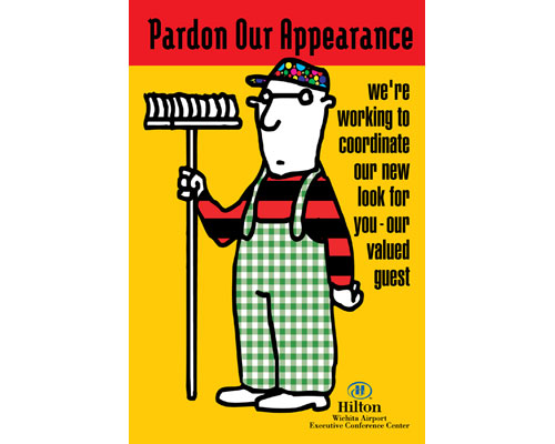 Hilton- Pardon Our Appearance