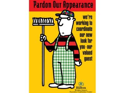 Hilton- Pardon Our Appearance