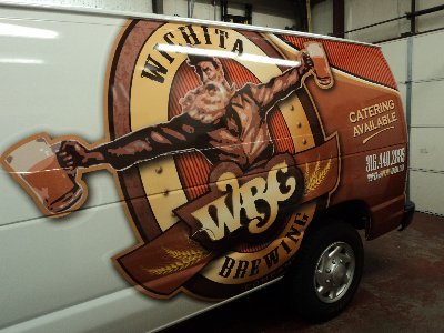 wichita brewing co van