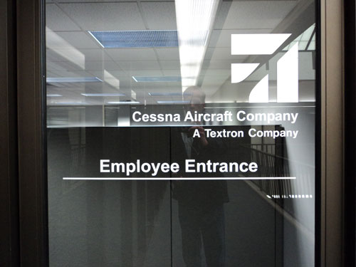 Cessna Employee Entrance