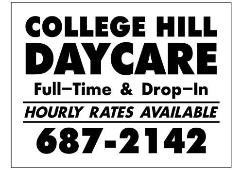 College Hill Daycare