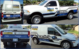 Subaru Vehicle Graphics
